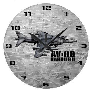AV-8B Harrier II Large Clock