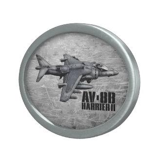AV-8B Harrier II Oval Belt Buckle