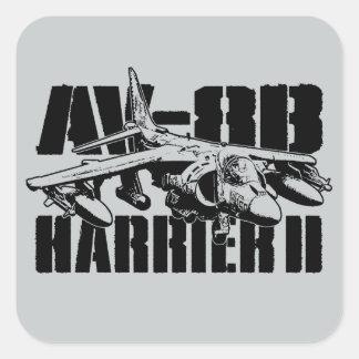 AV-8B Harrier II Square Stickers