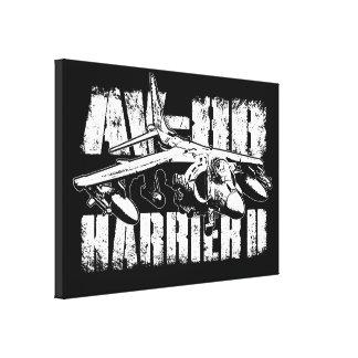 AV-8B Harrier II Wrapped Canvas