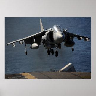 AV-8B Harrier Poster