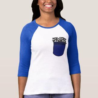 AV- Raccoons in a Pocket Cartoon Shirt