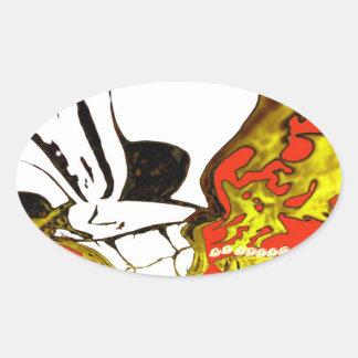 AV Relic Oval Sticker