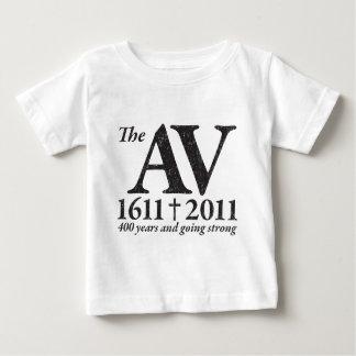 AV Still Going Strong in black distressed Baby T-Shirt