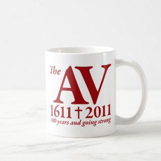 AV Still Going Strong in red Coffee Mug
