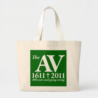 AV Still Going Strong in white Tote Bags