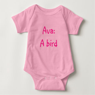 Ava Baby Name Meaning Bodysuit