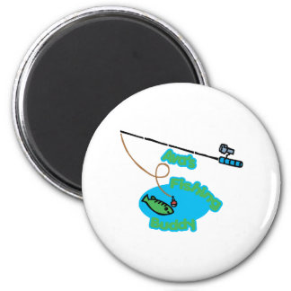 Ava' compinche de la pesca de s imán redondo 5 cm