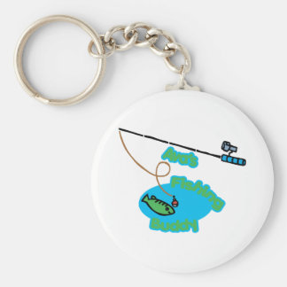 Ava' compinche de la pesca de s llavero redondo tipo pin