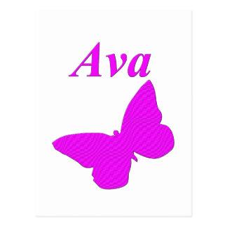 Ava Post Card