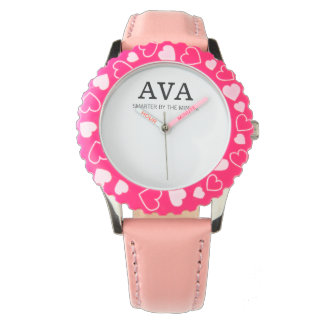 Ava smarter by the minute wristwatch