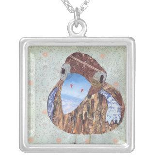 Ava Square Pendant Necklace
