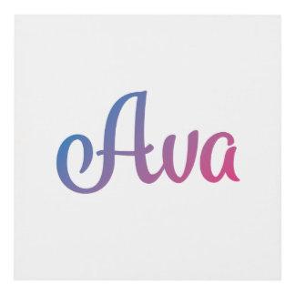 Ava Art & Framed Artwork   Zazzle