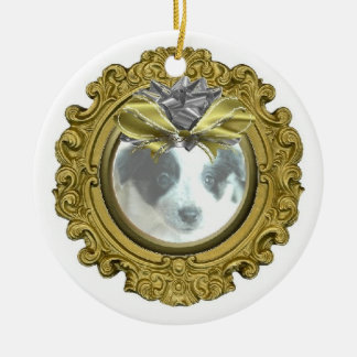 Ava The Amazing Border Collie Christmas Ornament