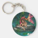Ava the Pink Mermaid Keychains