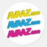 Avaaz Circular Sticker