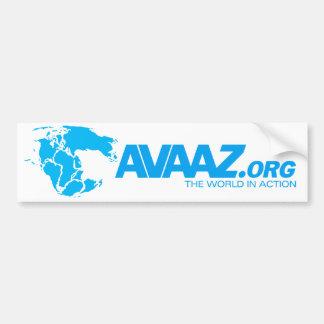 Avaaz.org Pangea Bumper Sticker Car Bumper Sticker