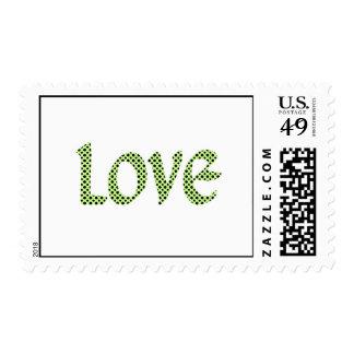 Avacado Polkadot Love Postage