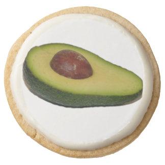 Avacado Round Premium Shortbread Cookie