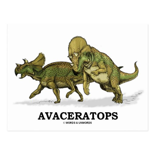 Avaceratops Postcards