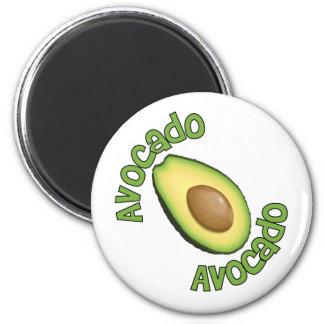 Avacodo Avacado Imán Redondo 5 Cm