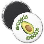 Avacodo Avacado Refrigerator Magnets