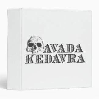 Avada Kedavra 3 Ring Binder
