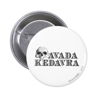Avada Kedavra Pinback Buttons