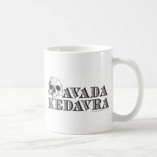 Avada Kedavra Classic White Coffee Mug