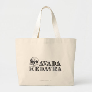 Avada Kedavra Large Tote Bag