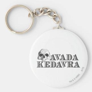 Avada Kedavra Llavero Personalizado