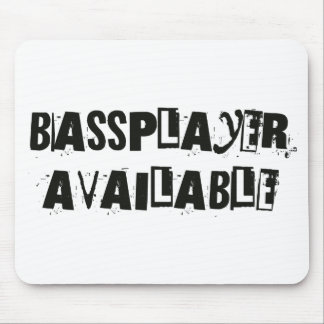 Available Bass Mouse Pad
