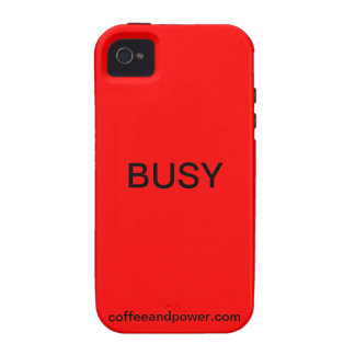 Available/Busy coworking iPhone case Case-Mate iPhone 4 Cover