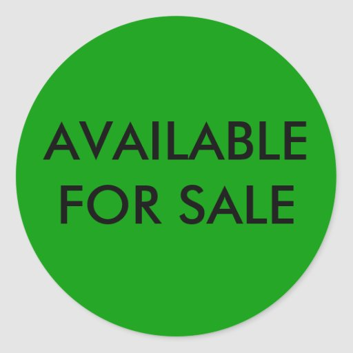 Available For Sale