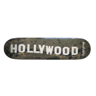 "Available ""Hollywood Bored"" Skateboard Deck"