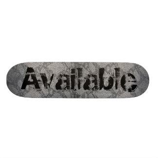"""Available """"Skateskin"""" Skate Board Deck"""
