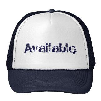 Available Trucker Trucker Hat