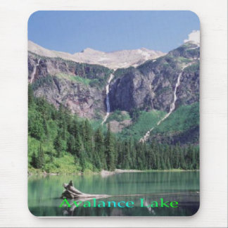 Avalance Lake mousepad