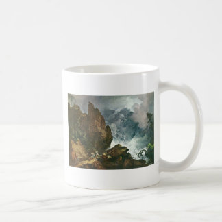 Avalancha en las montañas, por Loutherbourg D.J. Tazas De Café