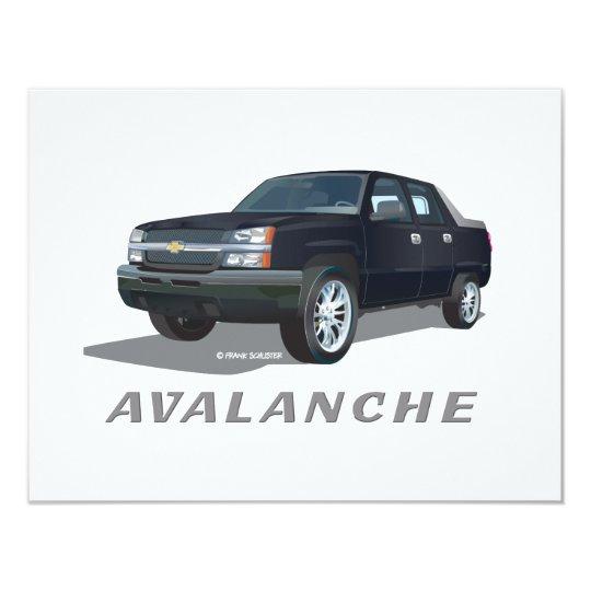 Avalanche Black Card