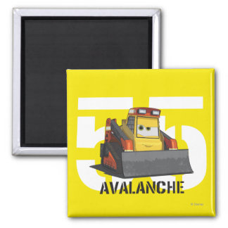 Avalanche Character Art 2 Inch Square Magnet