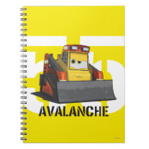 Avalanche Character Art Notebook
