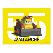 Avalanche Character Art Postcard