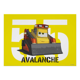 Avalanche Character Art Poster