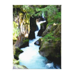 Avalanche Gorge-Glacier National Park Gallery Wrapped Canvas