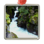 Avalanche Gorge I at Glacier National Park Metal Ornament