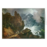 Avalanche In The Alps,  By Loutherbourg D. J. Greeting Cards