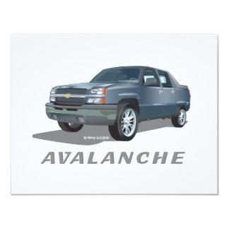Avalanche 4.25x5.5 Paper Invitation Card