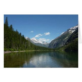 Avalanche Lake I in Glacier National Park Card