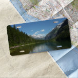 Avalanche Lake I in Glacier National Park License Plate